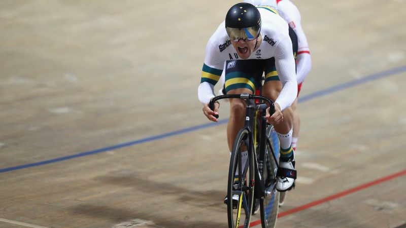 Matthew Glaetzer takes World Cup bronze at first race since cancer diagnosis