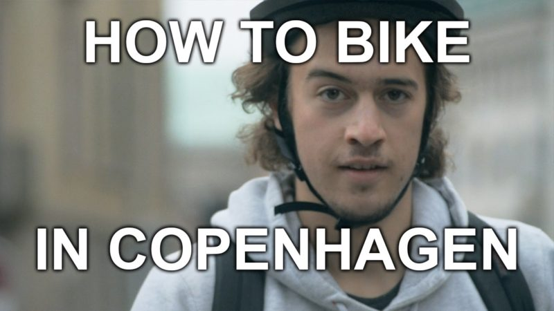 How to Bike in Copenhagen