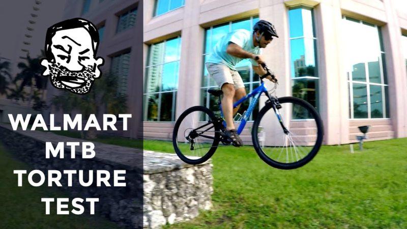 Walmart Bike Torture Test – Street Trials