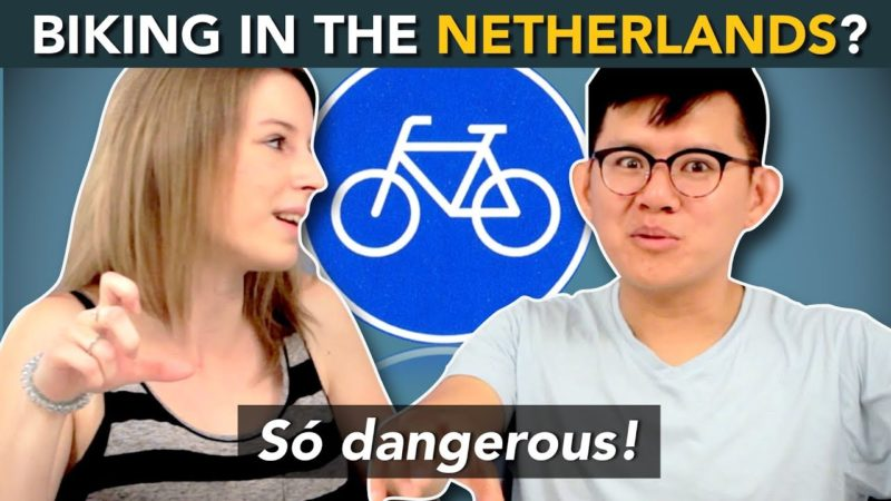 How to BIKE in THE NETHERLANDS? … These foreigners survived the Dutch bicycle!