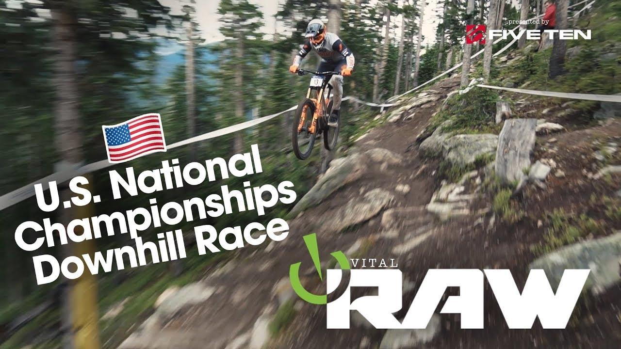 2019 U.S. National Mountain Bike Championships Downhill Race – Vital RAW