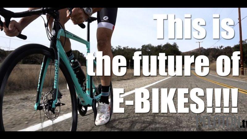 Stealth Electric: Bianchi Aria E Road Bike
