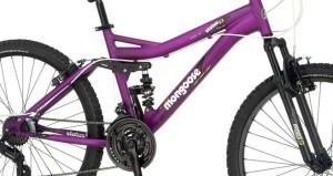 Tough Meets Girly: Mongoose Women's Status 2.2 Full Suspension Bike