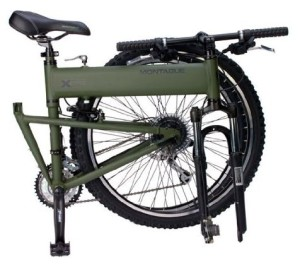 Military Strength and Design: Montague Paratrooper Folding Mountain Bike