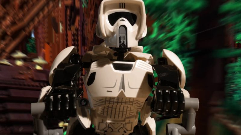 Speeder Bike Chase – LEGO Star Wars – Should Have Used The Force