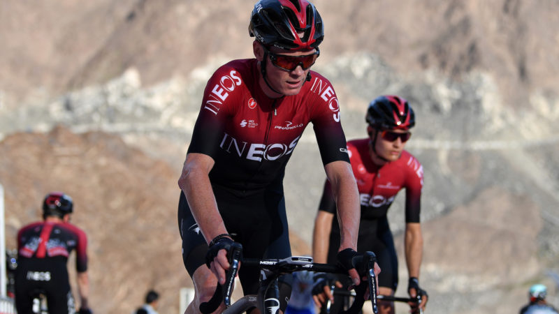 Chris Froome and Egan Bernal post monster training rides on Strava