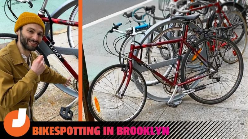Let's Look At Some Real New York City Cars: These Old Bikes