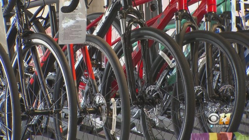 Busy Time For North Texas Bike Shops: 'It's Going Like Gangbusters Around Here