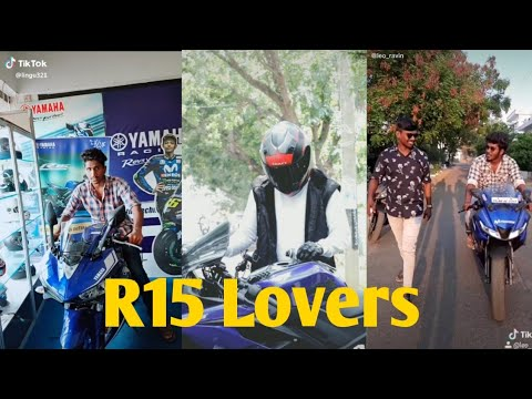 YAMAHA R15V3 Tiktok videos || R15 lover || Bike lover