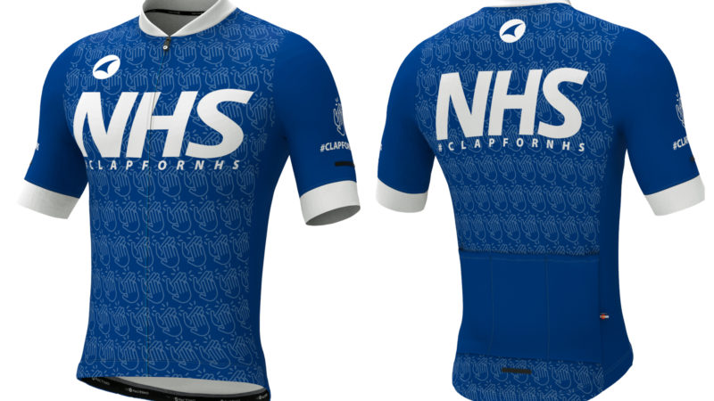 Pactimo produce 'Clap for NHS' jersey to raise funds