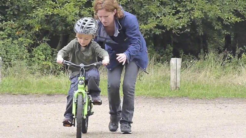 Teach your child how to ride a bike really quickly!
