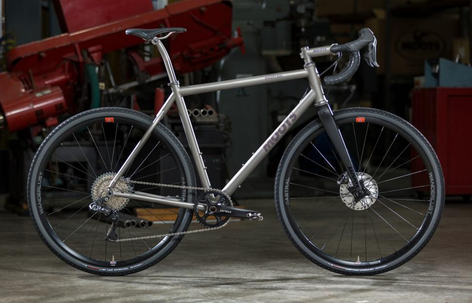 Moots announces new Routt RSL, 45 and YBB titanium gravel and adventure bikes