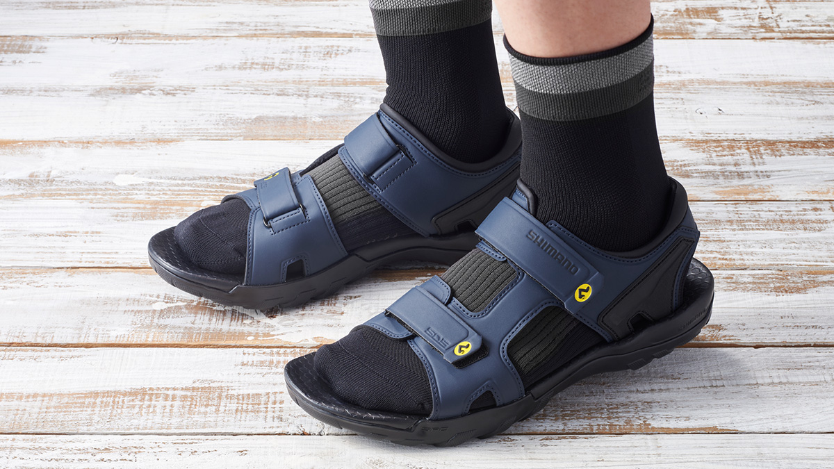 Shimano gets casual with 25th Anniversary SPD sandals – VeloNews.com