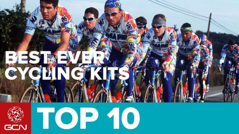 Top 10 Best Pro Cycling Kits Ever