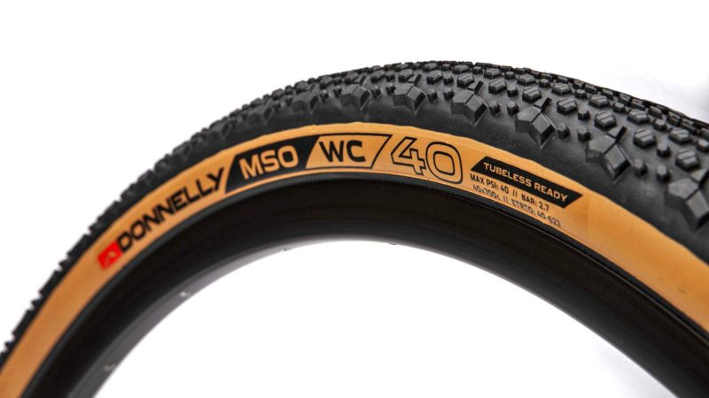 Donnelly MSO WC brings 240tpi CX World Cup level casing to EU-made gravel tires