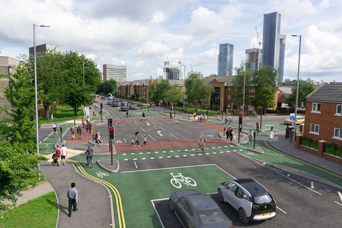 """Could UK first CYCLOPS junction be """"slam dunk"""" for cycling?"""