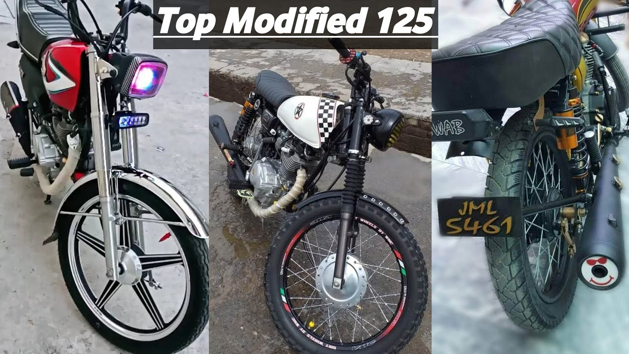 TOP HONDA CG 125 2020 BIKES IN PAKISTAN PART 2 | MG Extra