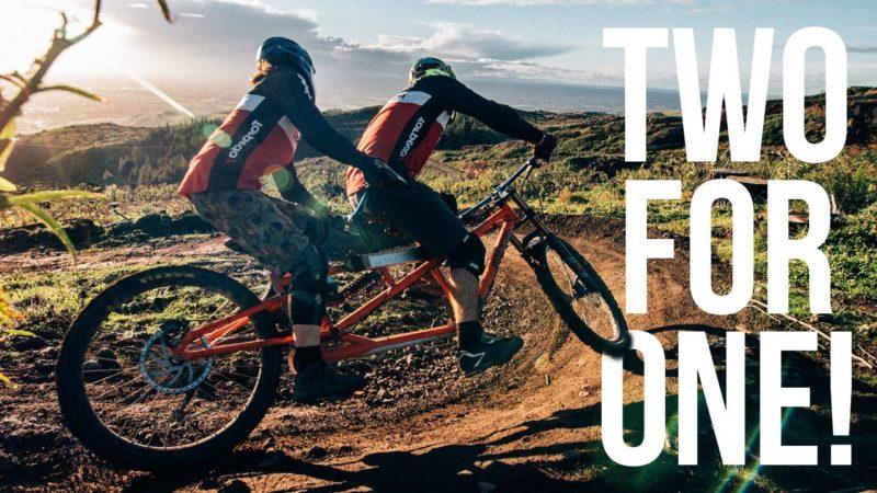 Tandem Downhill – A Short Mountain Bike Film